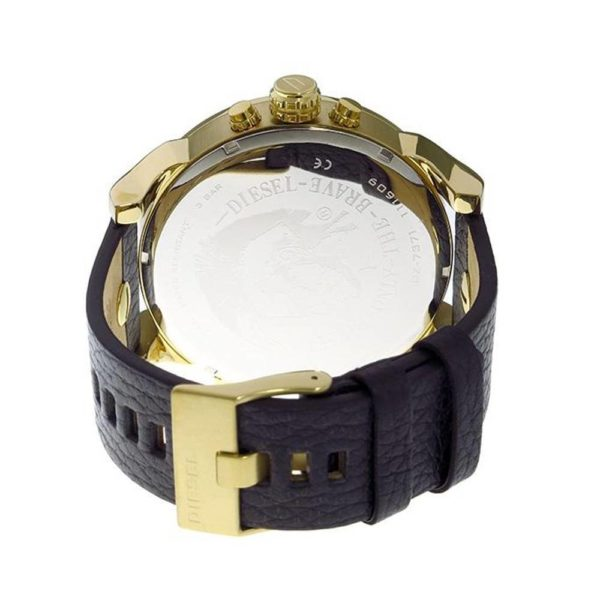 DIESEL Mr. Daddy 2.0 DZ7371 Herrenuhr Chronograph Leder Gold - John-Calf